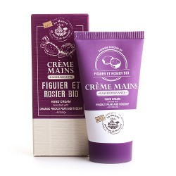 Crème Mains tube 30ml FIGUE DE BARBARIE et ROSIER Bio