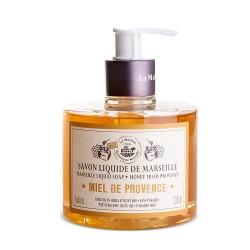 Savon liquide de Marseille 330ml MIEL DE PROVENCE- à l'Huile d'olive Bio
