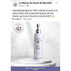 Pierre d'alun en spray 120ml