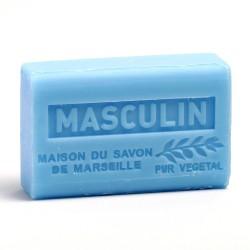 Savon 125gr au beurre de karité bio- MASCULIN lot: Ma20215