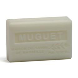 Savon 125gr au beurre de karité bio- MUGUET