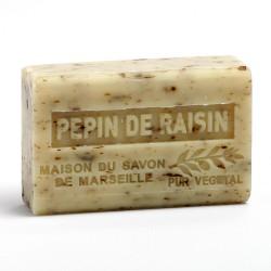 Savon 125gr au beurre de karité bio- PEPIN DE RAISIN lot: Ma19495