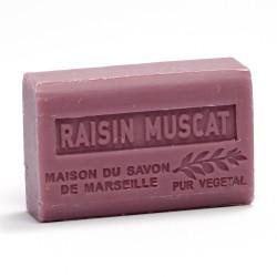 Savon 125gr au beurre de karité bio- RAISIN MUSCAT lot: Ma19434