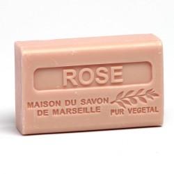 Savon 125gr au beurre de karité bio- ROSE