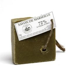Savon de Marseille - Tranche 150gr 72% Huile d'Olive