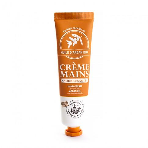 Crème Mains tube 30ml HUILE D'ARGAN Bio